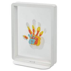 Transparent Family Handprint Frame