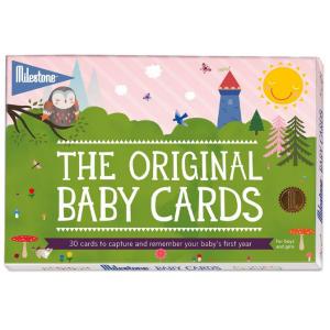 Baby Keepsake Cards by Milestone