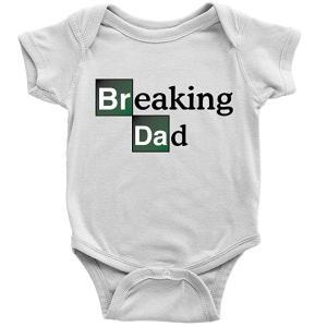 Breaking Dad Funny Babygrow