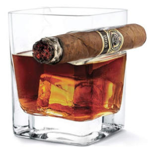 Jiaan Cigar Whiskey Glass