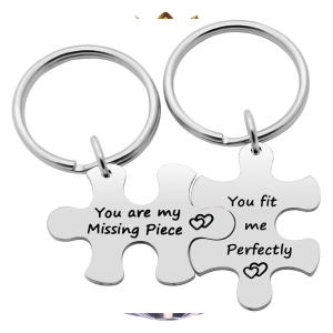 Couple Key Chain Puzzles