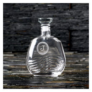 Engraved Bourbon or Whiskey Decanter