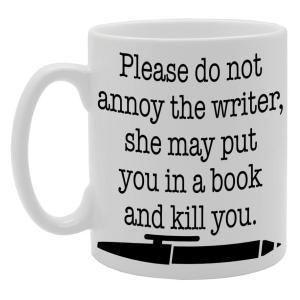Funny Writer Mug