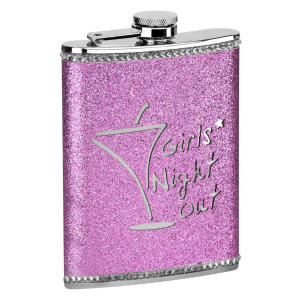 Girls Night Out Hip Flask