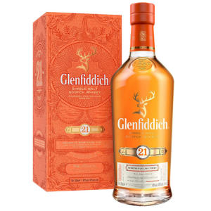 Glenfiddich 21 Year Old Scotch Whiskey