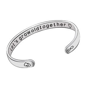 Grow Old Together Bangle