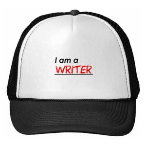 I Am A Writer Hat
