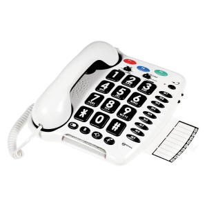 Loud Big Button Corded Telephone