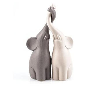 Loving Elephants Set of 2