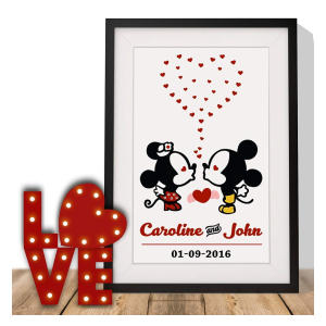Mickey And Minnie Better Together Print