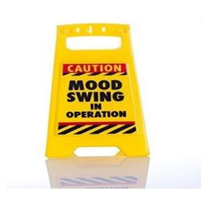 Mood Swing Novelty Office Sign