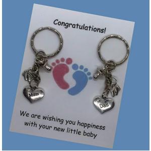 Parents Handmade Baby Keyring