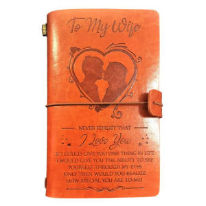 My Wife Leather Journal