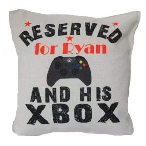 Personalised Funny XBox Cushion