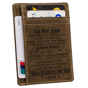 Personalised Son Wallet