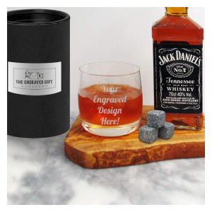 Personalised Whiskey Crystal Glass