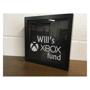 Personalised XBox Playstation Money Frame Fund