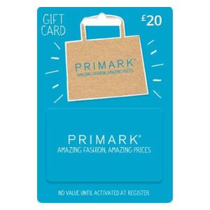 Primark £20 Gift Card