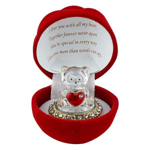 Red Rose Teddy Bear Gift