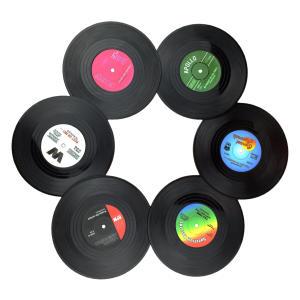 Retro Vinyl Cup Mat