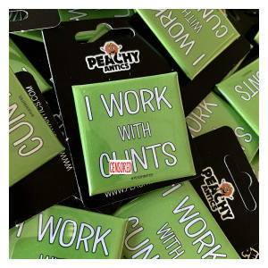 Rude Coworker Badge