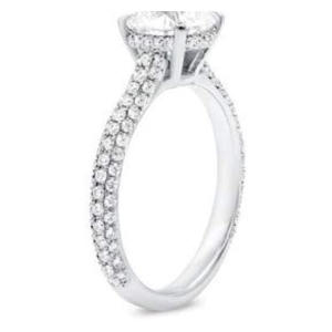 Solitaire Diamonds Engagement Ring