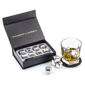 Stainless Steel Whiskey Stones Set