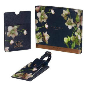 Ted Baker and Passport Set Luggage Tag