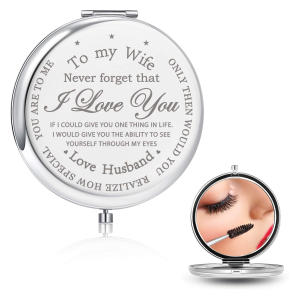 To My Wife Compact Mirror