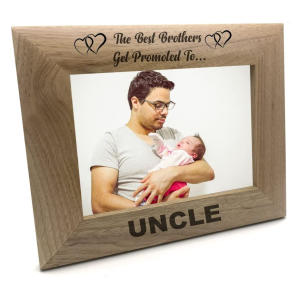 Uncle Wooden Photo Frame