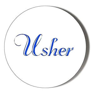 Usher Fridge Magnet