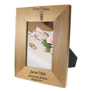 Usher Wooden Photo Frame