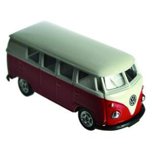 VW 1963 Model Red Camper Van