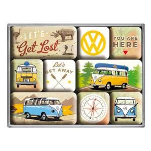 VW Bulli Magnet Set