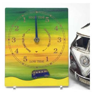 VW Camper Tide Clock