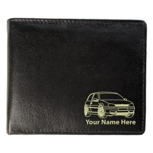VW Golf Leather Wallet