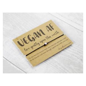 Vegan AF Wish Bracelet