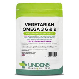 Vegetarian Omega 3 6 & 9 Capsules