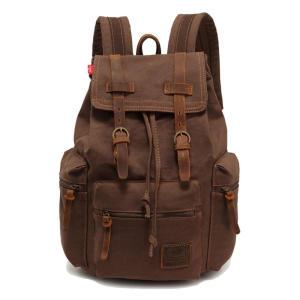 Vintage Unisex Leather Backpack