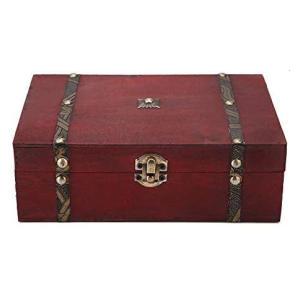 Vintage Wooden Jewellery Box