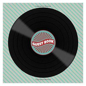Vinyl Record Album Guest Book