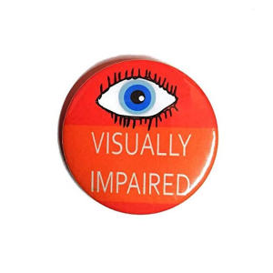Visually Impaired Badge
