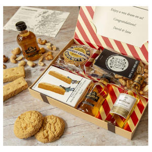 Whiskey Lovers Letter Box Hamper