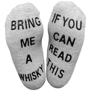 Bring Me Whiskey Socks