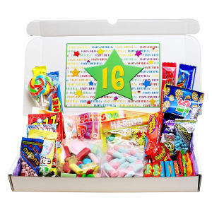 16th Birthday Sweets Gift Box