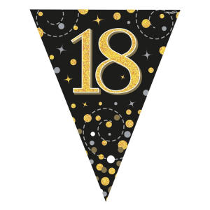 18th Birthday Flag Bunting