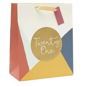 21st Birthday Gift Bag Large