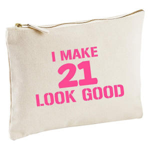 21st Birthday Make-Up Gift Bag