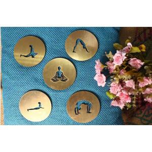 5 Yoga Tea Coasters