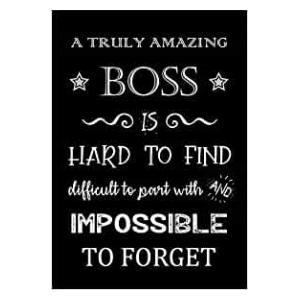 Amazing Boss Notebook